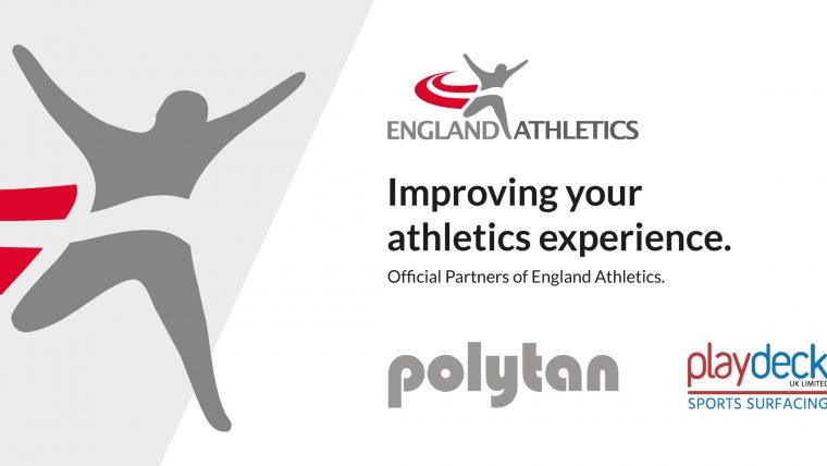 Official Partner of England Athletics